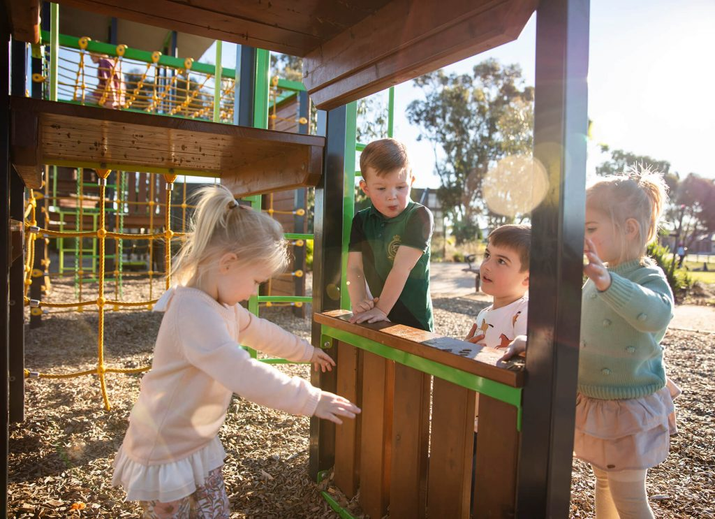 Play Equipment for Toddlers and Preschool Age Children