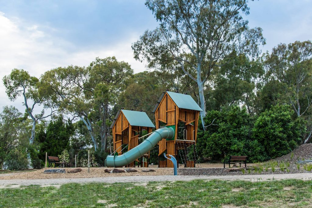 Natural Play Space at Bellyett Reserve