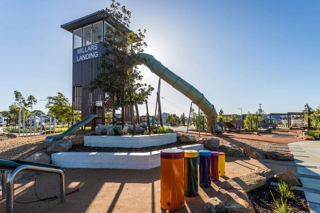 Millars Landing Steamrail Playground