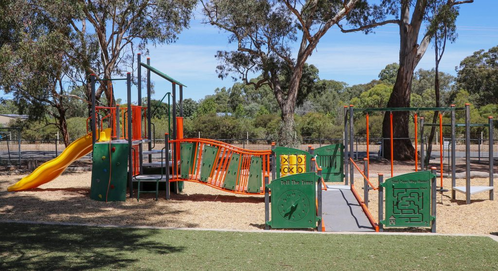 We can create inclusive playgrounds that accommodate students of all ages and abilities