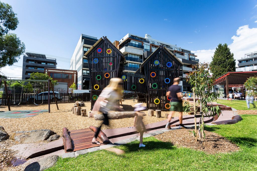 Bulleke-bek Park playground